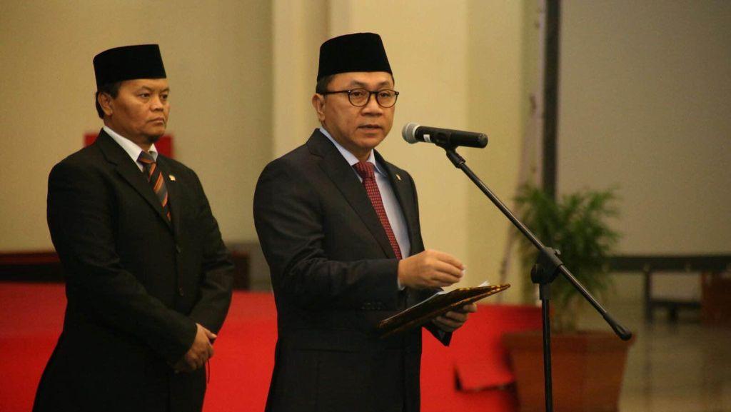 Pimpinan MPR RI Lantik 13 Anggota Pengganti Antar Waktu