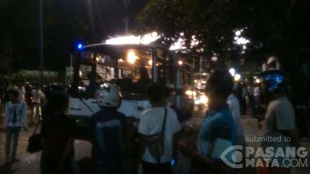 Dikeroyok Warga, Sopir Kopaja Penabrak Pejalan Kaki Dibawa ke RS Budi Asih