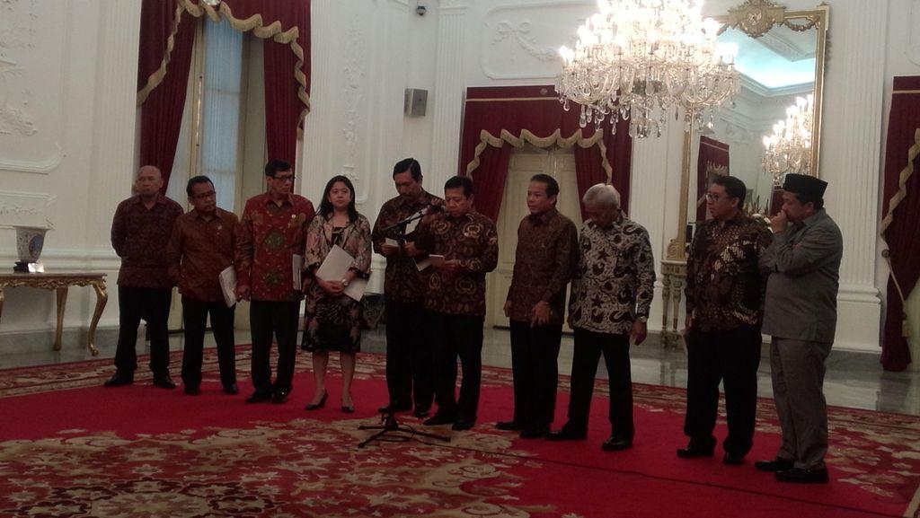 Fokus Perbaikan Ekonomi, Jokowi dan DPR Sepakat Revisi UU KPK Ditunda
