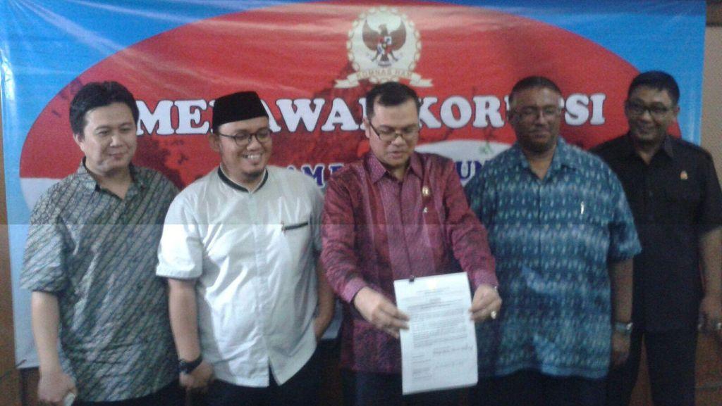 Bersama Para Tokoh, Komnas HAM Deklarasikan Korupsi Merupakan Pelanggaran HAM