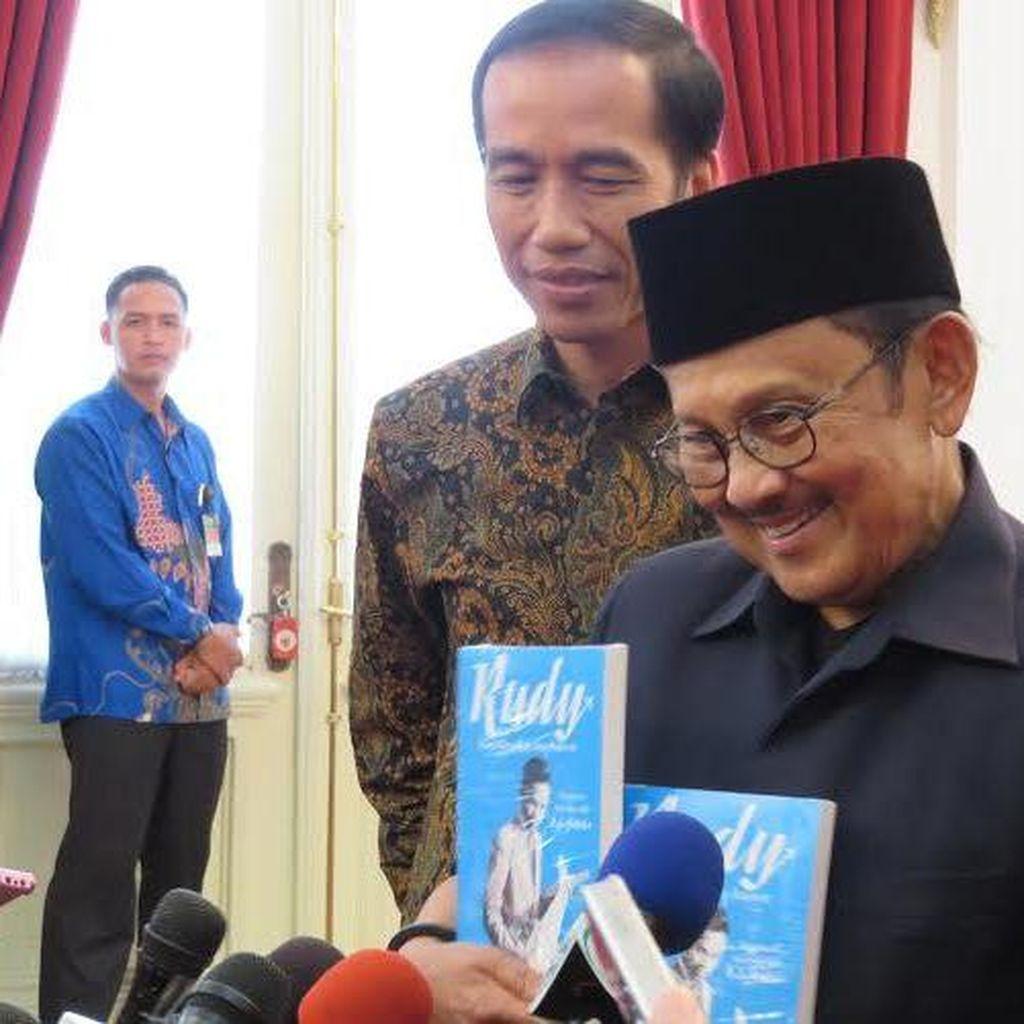 BJ Habibie: Jokowi Anak Intelektual Saya