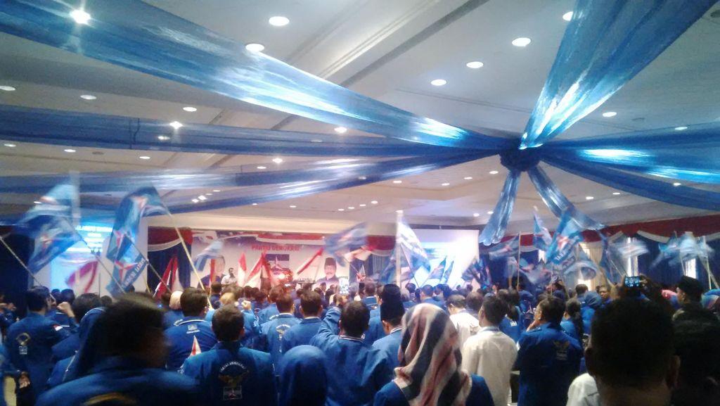 Bahas Pilkada Serentak, SBY Kumpulkan Kader Partai Demokrat se-Jawa Timur