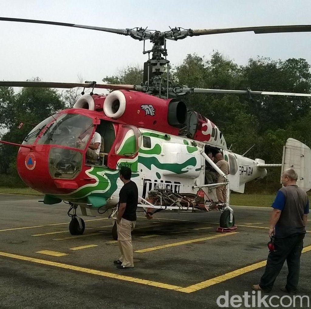 Kebakaran Lahan di Riau Telah Kondusif, Helikopter Kamov Digeser ke Sumsel