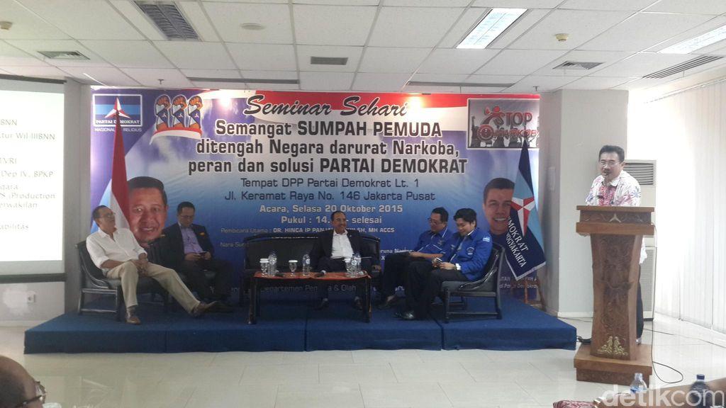 Indonesia Darurat Narkoba, Demokrat Gelar Seminar Penyuluhan