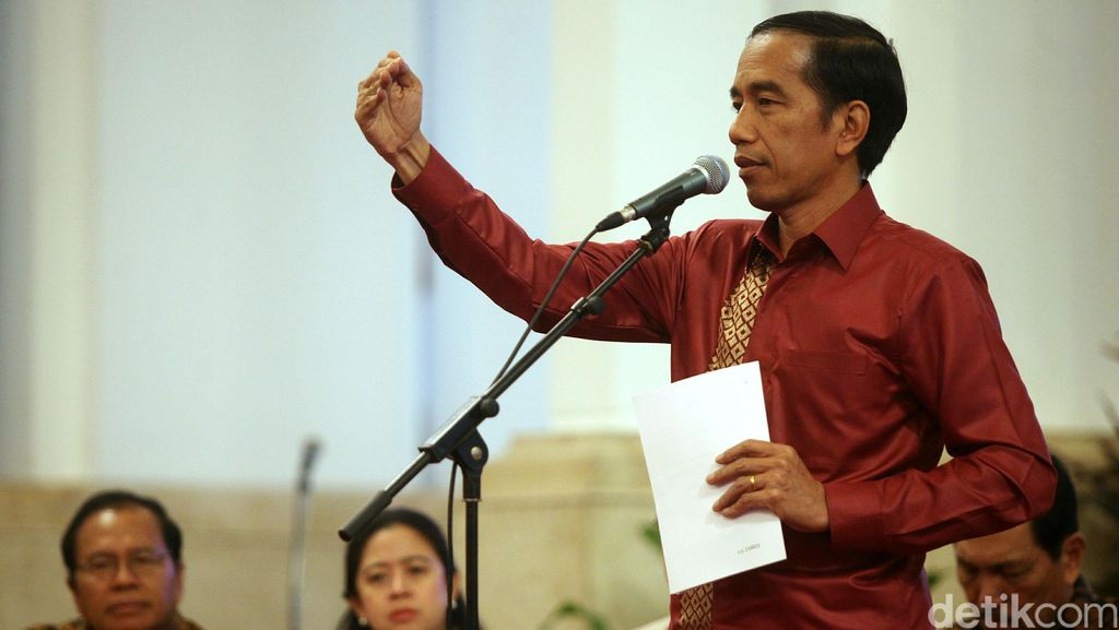 Jokowi: Menurut UU, DPR Memilih 5 dari 10 Nama Capim KPK yang Diajukan