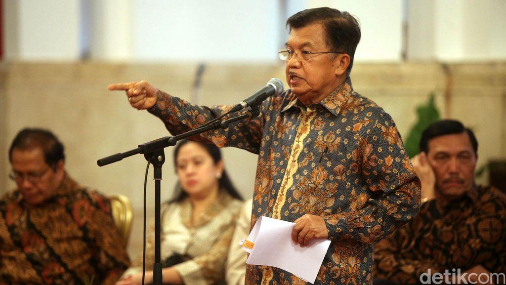JK Yakin Jokowi Akan Teken Surat Pemeriksaan Novanto di Kejagung dan Polri