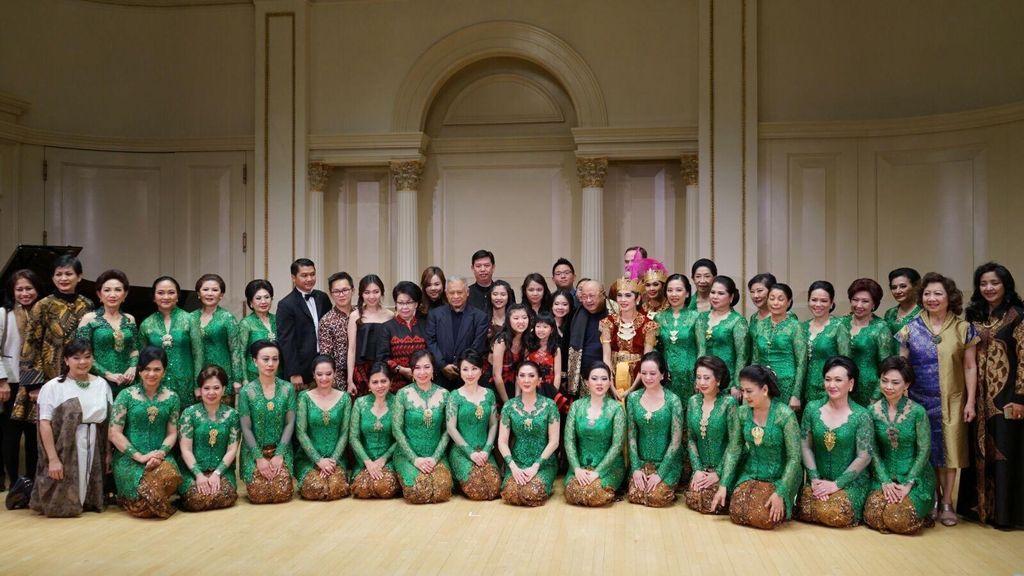 Musik dan Tarian Indonesia Pukau Penonton di Carnegie Hall New York