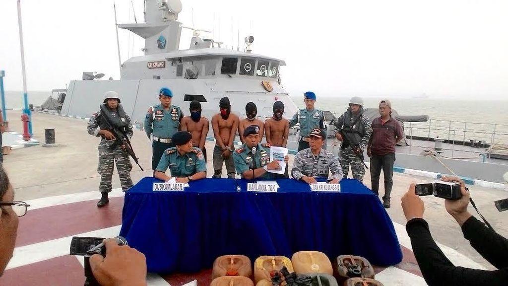 Satgas Anti Bajak Laut TNI AL Gagalkan Perompakan di Tanjong Dato Kepri