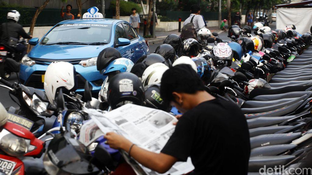 Dishub DKI Keluhkan Kurangnya Lahan Penitipan Kendaraan Hasil Razia