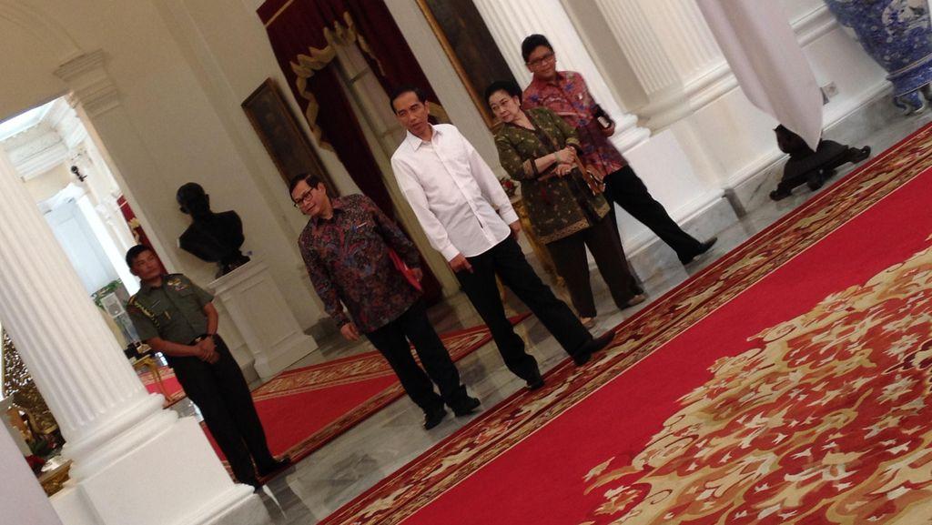 Soal Setahun Jokowi-JK, Megawati: Ya Boleh-boleh Saja
