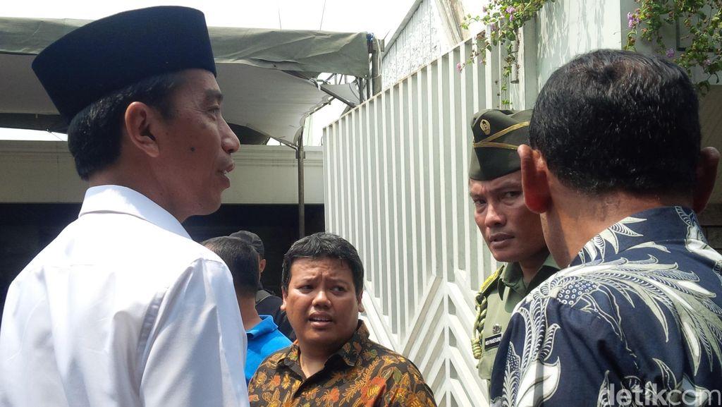 Pesan Eyang Sani ke Jokowi: Selalu Berbuat Baik dan Sederhana