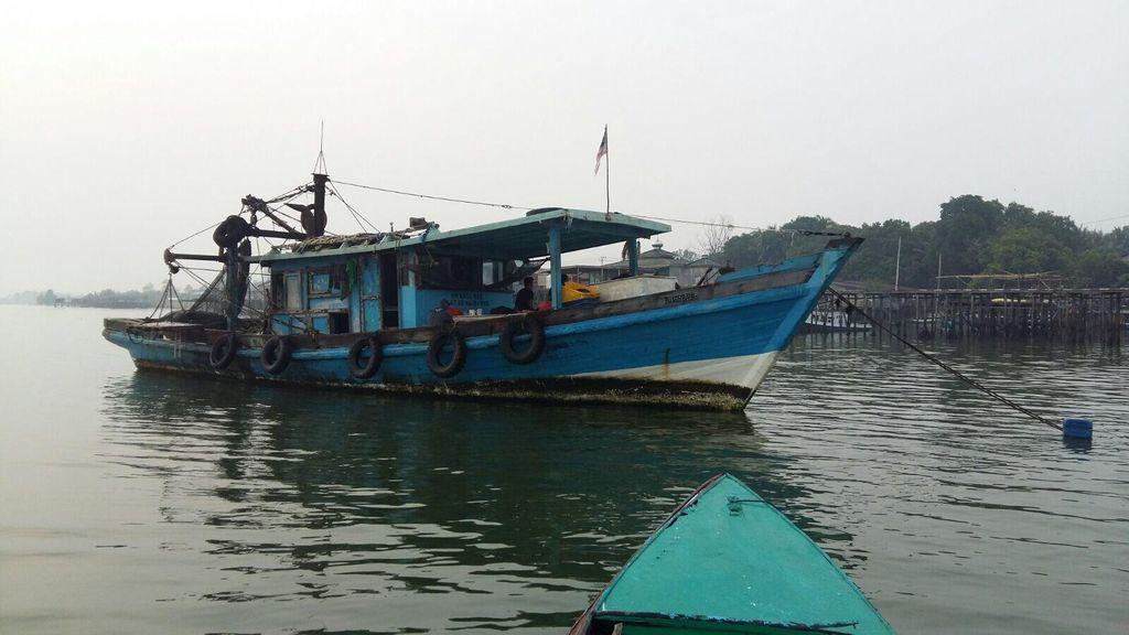 Anggota Polisi Hilang di Laut saat Tangkap Kapal Asing Pencuri Ikan