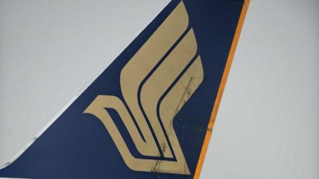 Singapore Airlines Alami Masalah Rem, Penerbangan Tokyo-Jakarta Ditunda