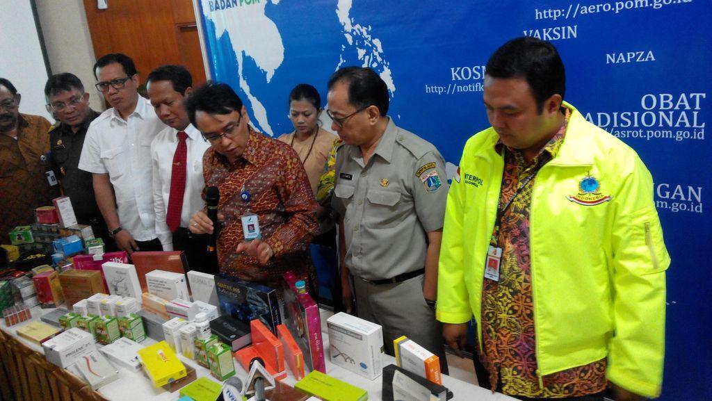 Kepala BPOM: Produk Obat dan Kosmetik Ilegal Terbanyak Ditemukan di Banten