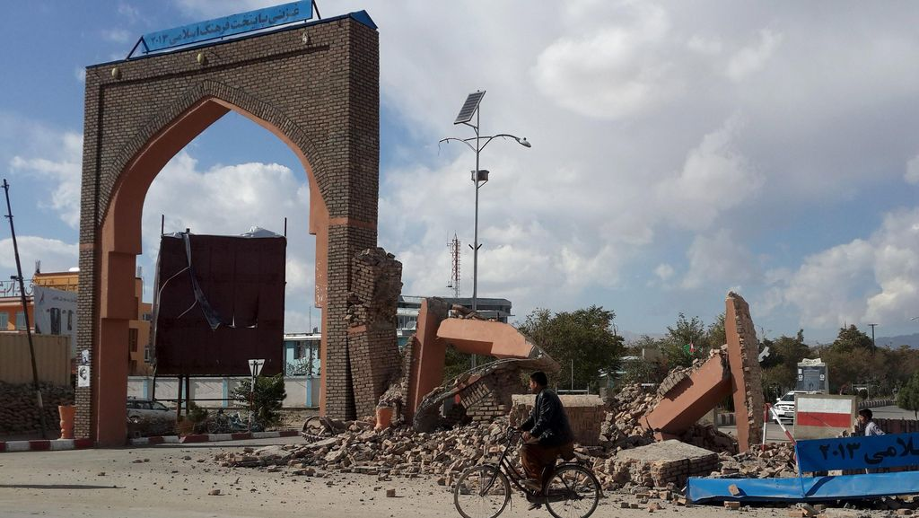 Taliban Minta Bantuan Gempa di Afghanistan Segera Disalurkan