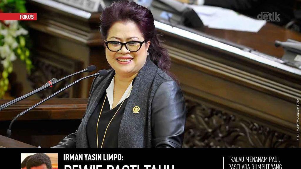 Irman Yasin Limpo: Dewie Pasti Tahu Risiko Tindakannya