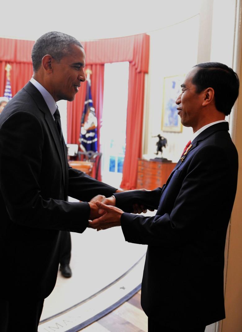 KBRI Washington: Tak Ada Jasa Pelobi, Obama Langsung yang Undang Jokowi ke AS