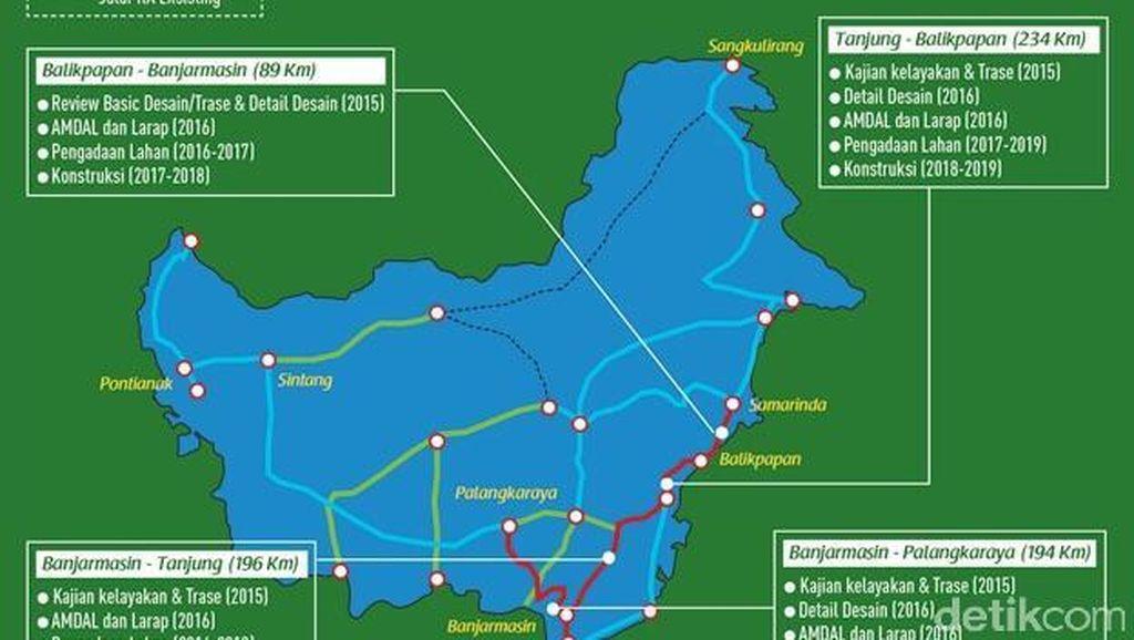 Lahan Gambut Jadi Kendala, Paling Cepat 2018 Kereta Trans Kalimantan Dibangun