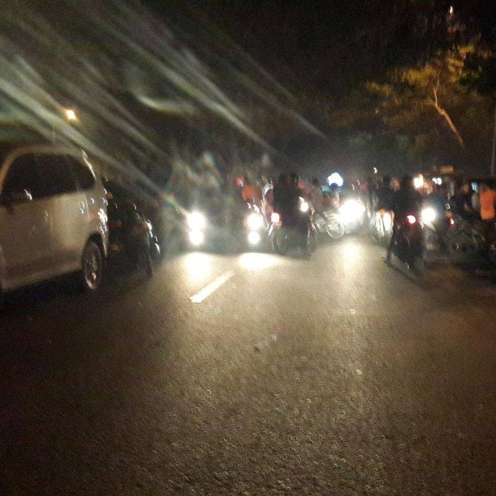 Polisi Gelar Razia, Ratusan Pembalap Liar Ditilang