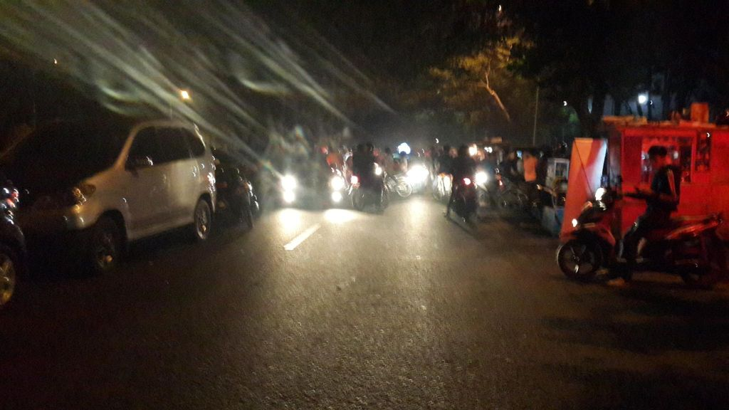 Ditertibkan TNI dan Polisi, Joki Balap Liar di TMII Kocar-kacir