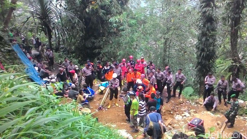 Operasi Pencarian Korban Longsor di Gunung Pongkor Resmi Dihentikan
