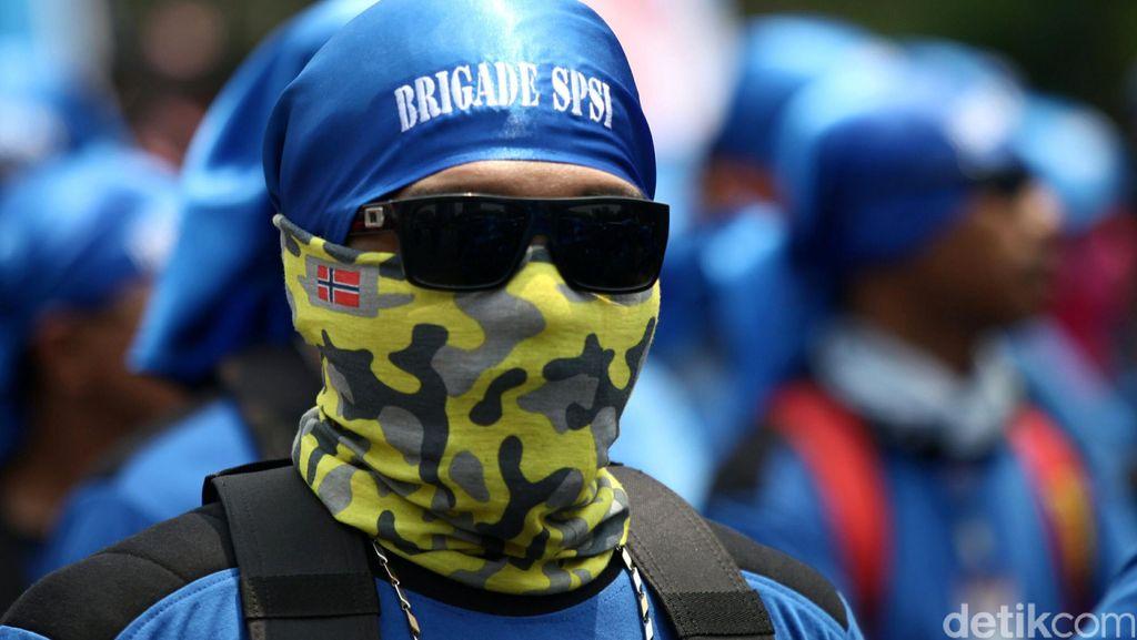 Awas Macet! Demo Buruh Mulai Terlihat di Marunda, Tangerang dan Bogor