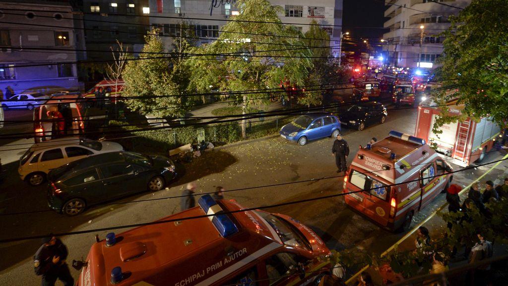 Korban Tewas Kebakaran Kelab Malam di Rumania Bertambah Jadi 41 Orang