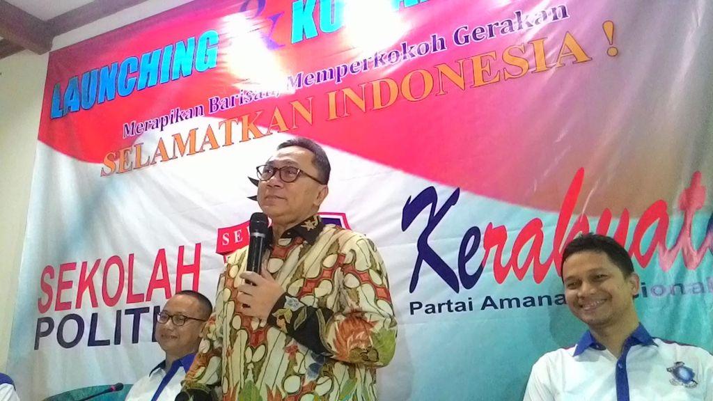 Zulkifli Hasan Bicara Soal Politik NPWP
