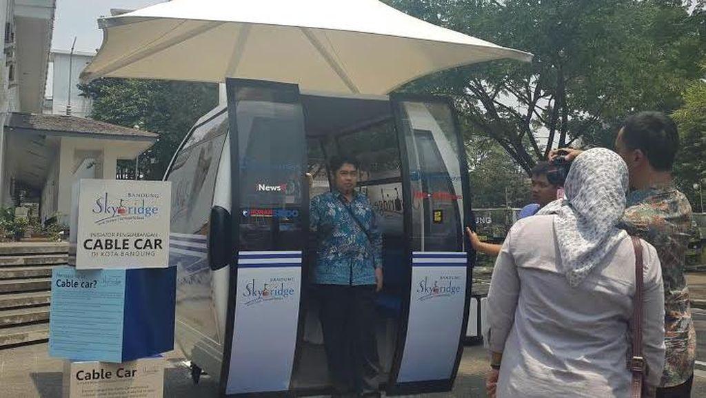 Cable Car Bandung Tinggal Tunggu Rekomendasi Gubernur dan Kemenhub