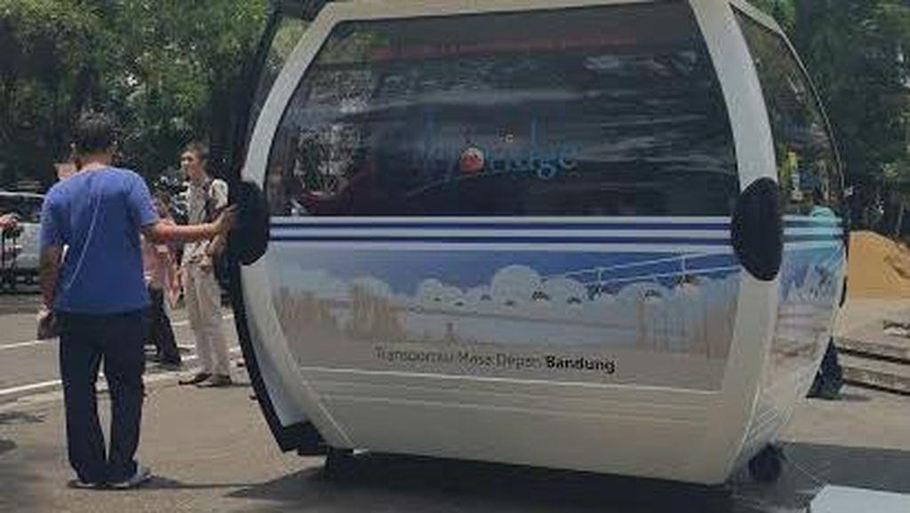 Dewan Nilai Proyek Cable Car Gelap-Nyawang Dago Bandung Tak Sesuai Perda