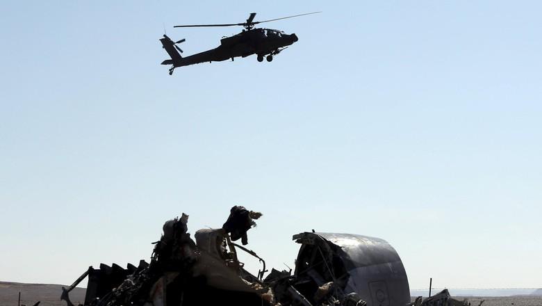 Rusia Keluhkan Inggris yang Tak Laporkan Info Soal Bom di Pesawat Jatuh