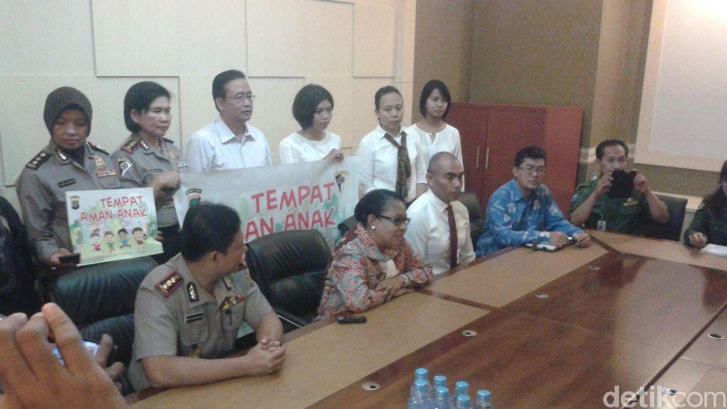 Ke Mapolres Jaksel, Menteri Yohana Dengarkan Curhat Pencabul 15 Anak