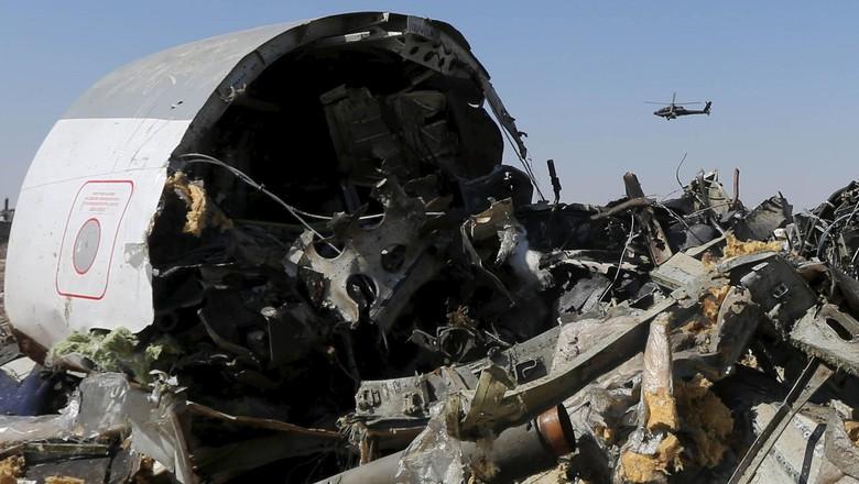 ISIS di Mesir Klaim Tembak Jatuh Pesawat Rusia