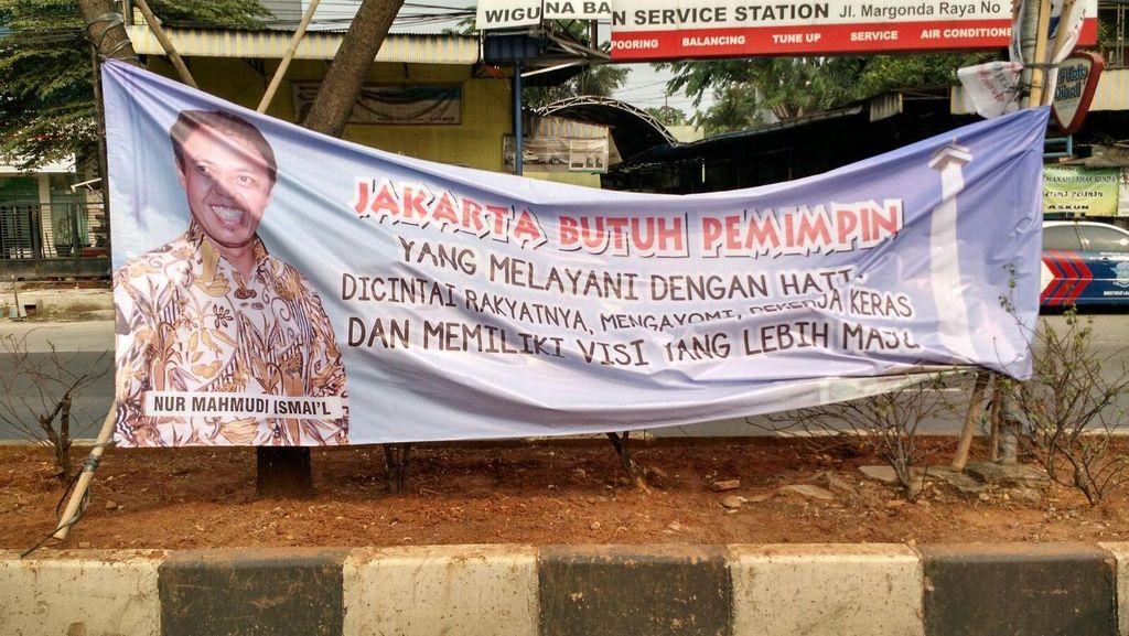 Ada Spanduk Nur Mahmudi Pemimpin Jakarta di Arena Mukernas PKS
