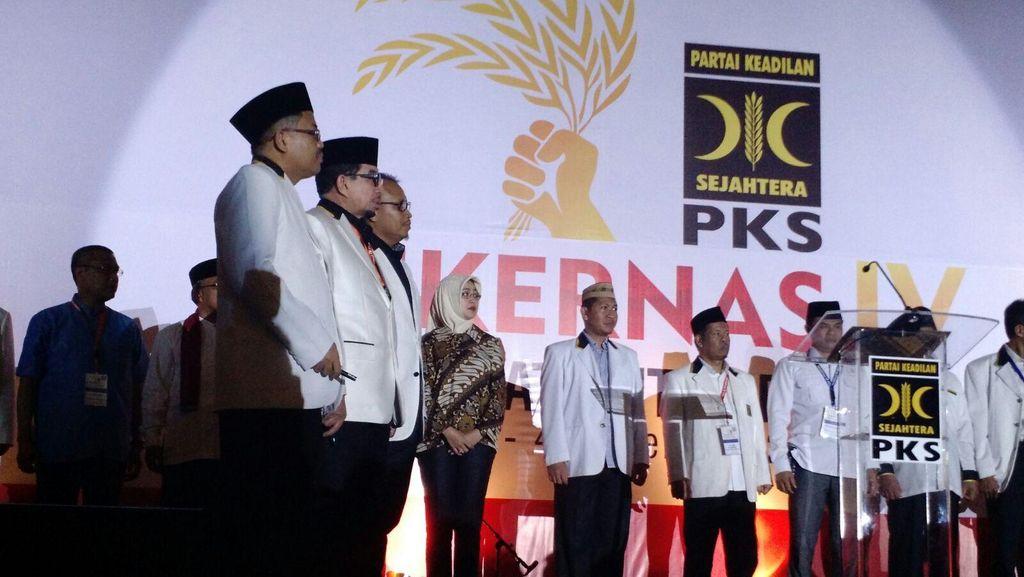 Wali Kota Tangsel Airin Ikut Deklarasi Pemenangan Pilkada PKS