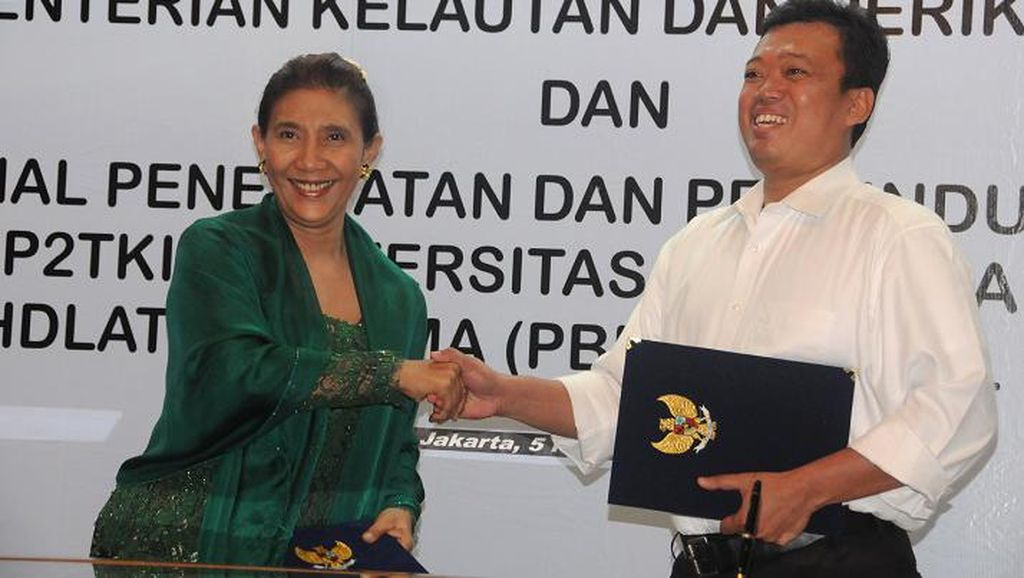 BNP2TKI Bentuk Aliansi Perlindungan ABK Perikanan dengan Menteri Susi