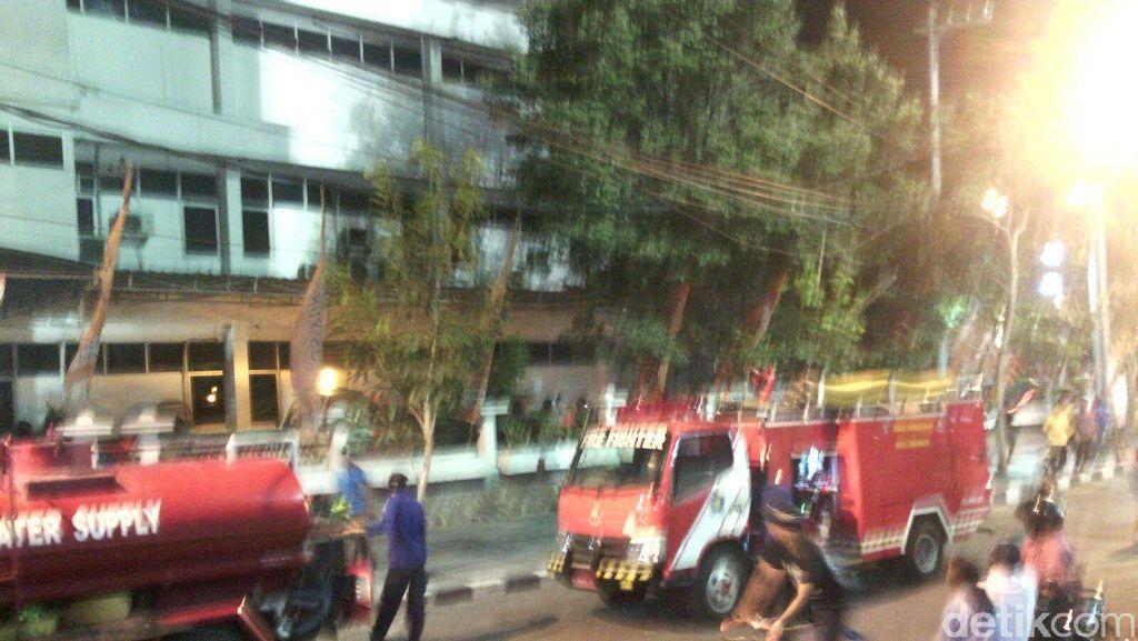 Kebakaran Kantor KPU Surabaya Diawali Percikan Api dari Colokan Listrik