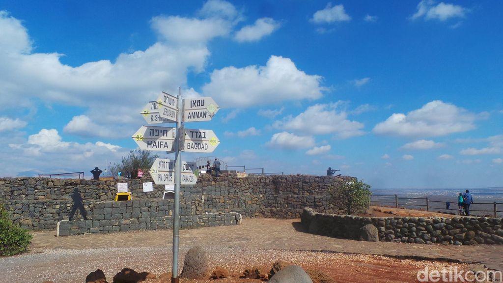 Ini Wujud Dataran Tinggi Golan, Tanah yang Diperebutkan Israel dan Suriah