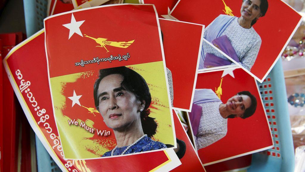 Partai Aung San Suu Kyi Pimpin Perolehan Suara Pemilu Myanmar
