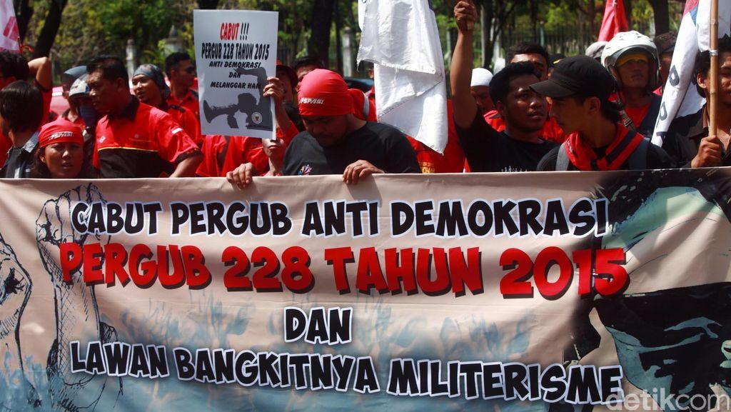 Ini Poin yang Dihapus Dalam Pergub Demo DKI Jakarta yang Baru