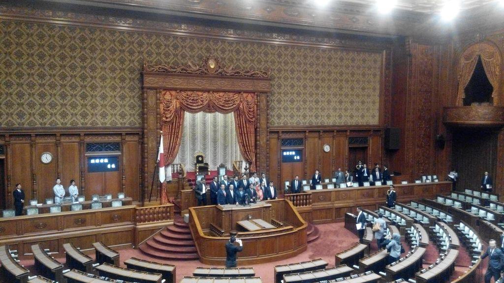 Saat Novanto Cs Jajal Ruang Sidang Parlemen Jepang