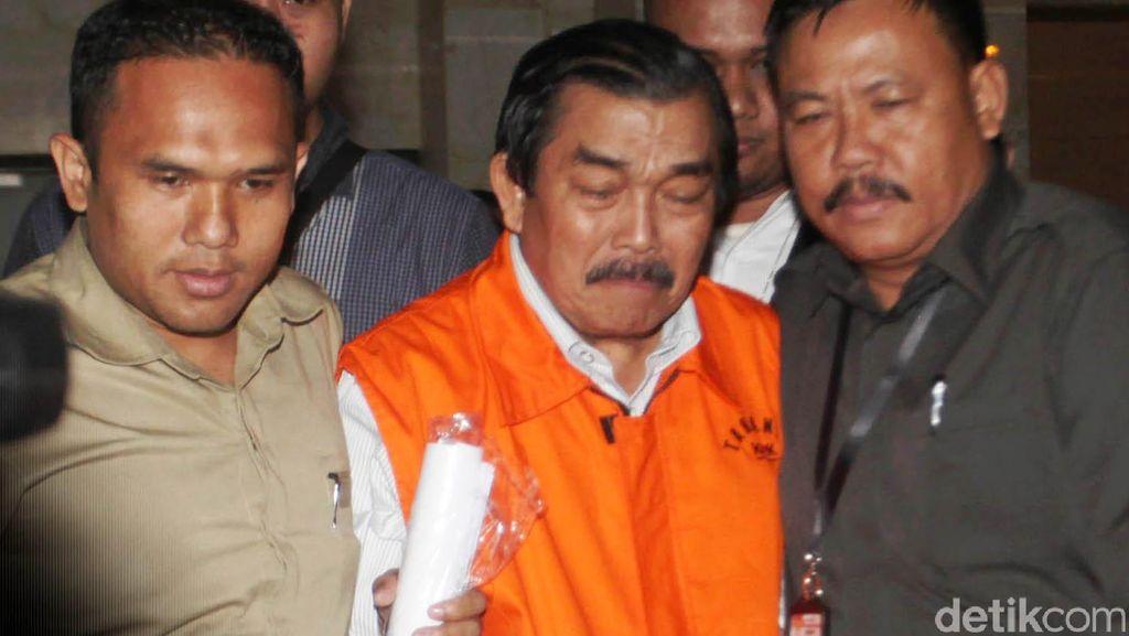 Mantan Ketua DPRD Sumut Saleh Bangun Didakwa Terima Uang Ketok Rp 2,7 M