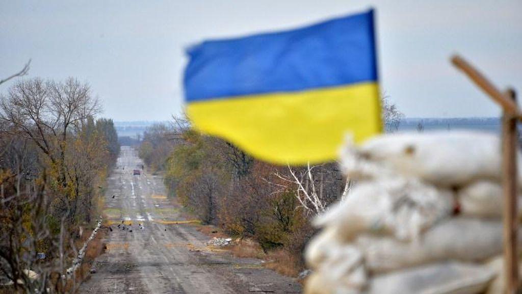 Jet Militer Ukraina Jatuh Saat Latihan, Pilot Tewas