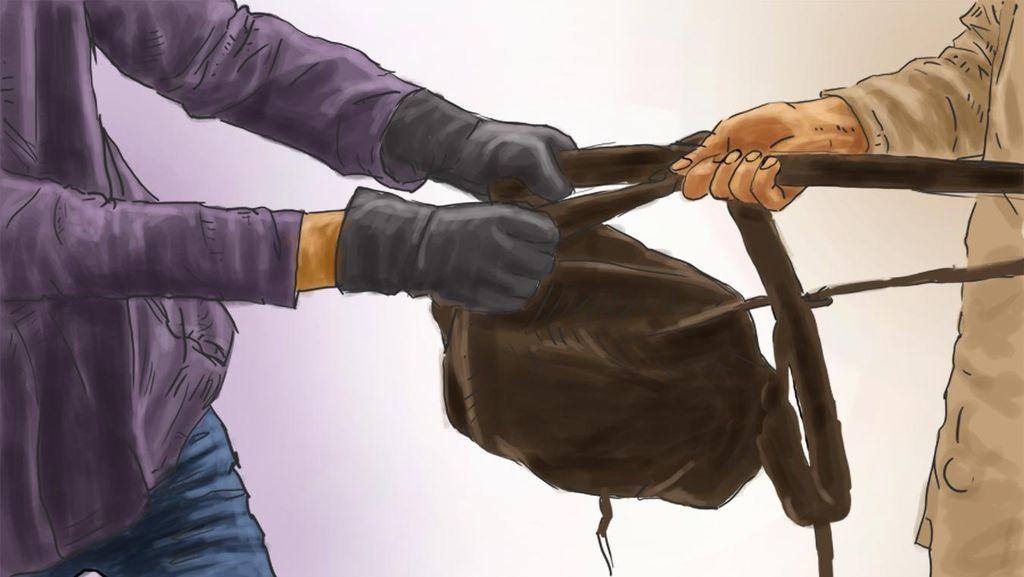 Terjatuh Usai Menjambret di Pamulang, Dua Remaja Ini Diamankan Polisi
