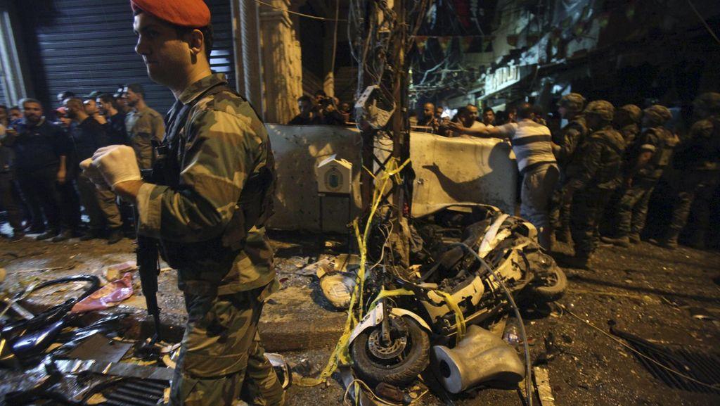 Dua Ledakan Tewaskan 43 Orang, Libanon Berkabung Nasional