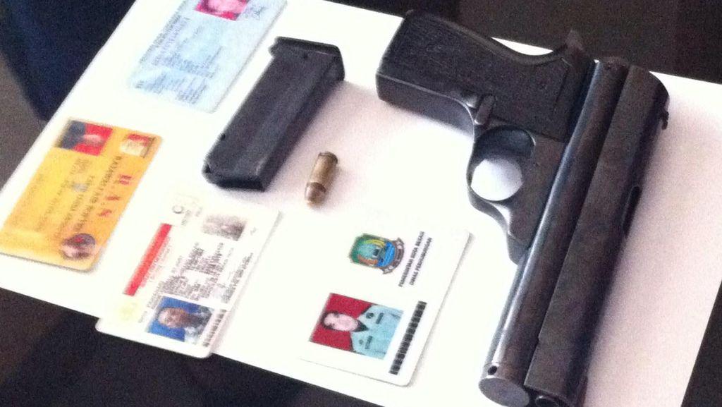 Polisi Tangkap Honorer di Dishub Bekasi Karena Selipkan Pistol di Celana