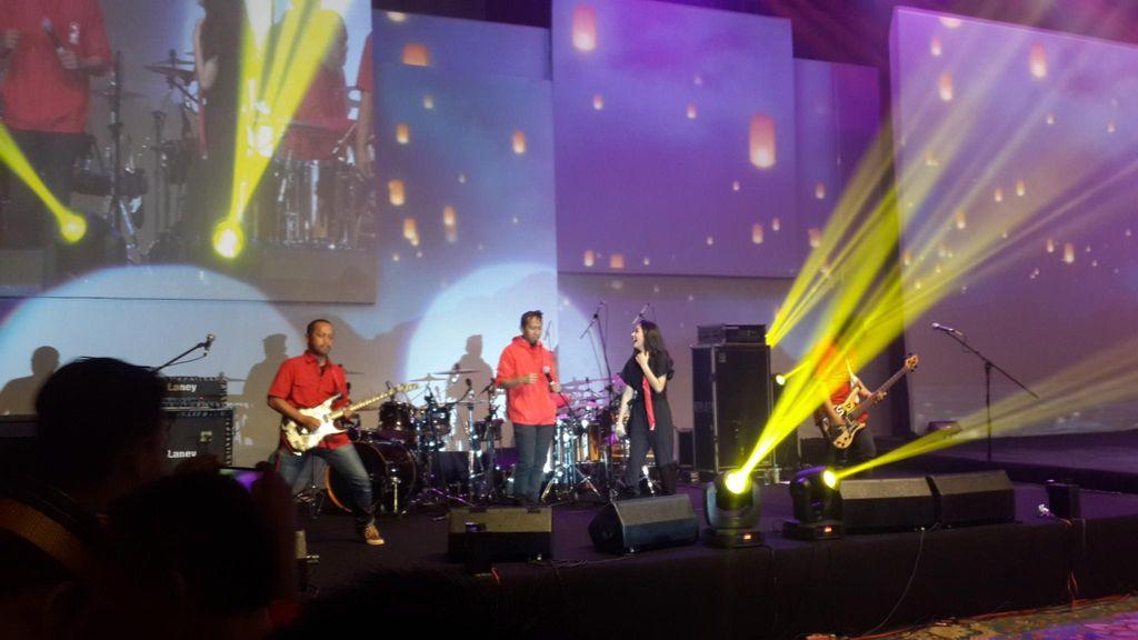 Gelora Anak Muda dan Lagu Noah dari Bupati Batang di Kopdarnas PSI