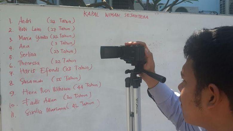 Korban KM Wihan Sejahtera yang Tenggelam Dilarikan ke RS PHC Perak