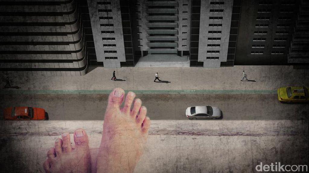 Seorang Pria Tewas Lompat dari Jembatan Layang Tol Meruya Usai Salat Idul Adha