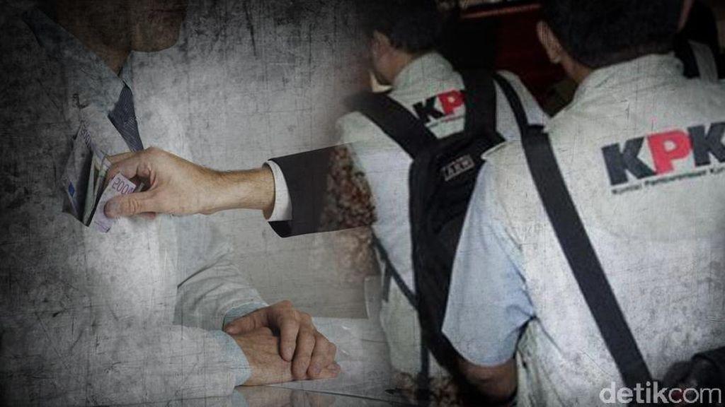 Tertangkap Tangan Terima Suap, Seorang Anggota DPRD Digelandang ke KPK